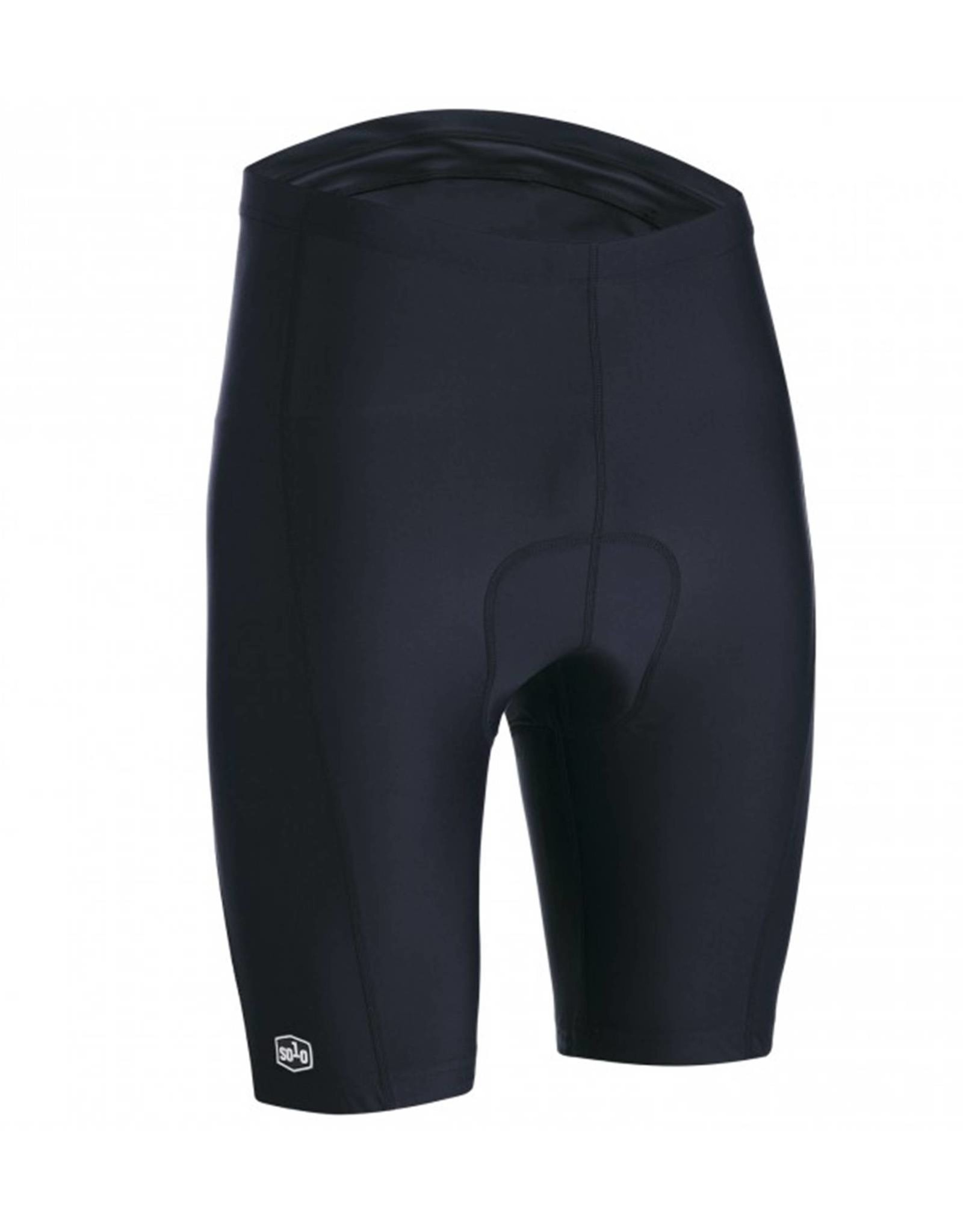 SOLO Solo Sport Cycling Shorts Black