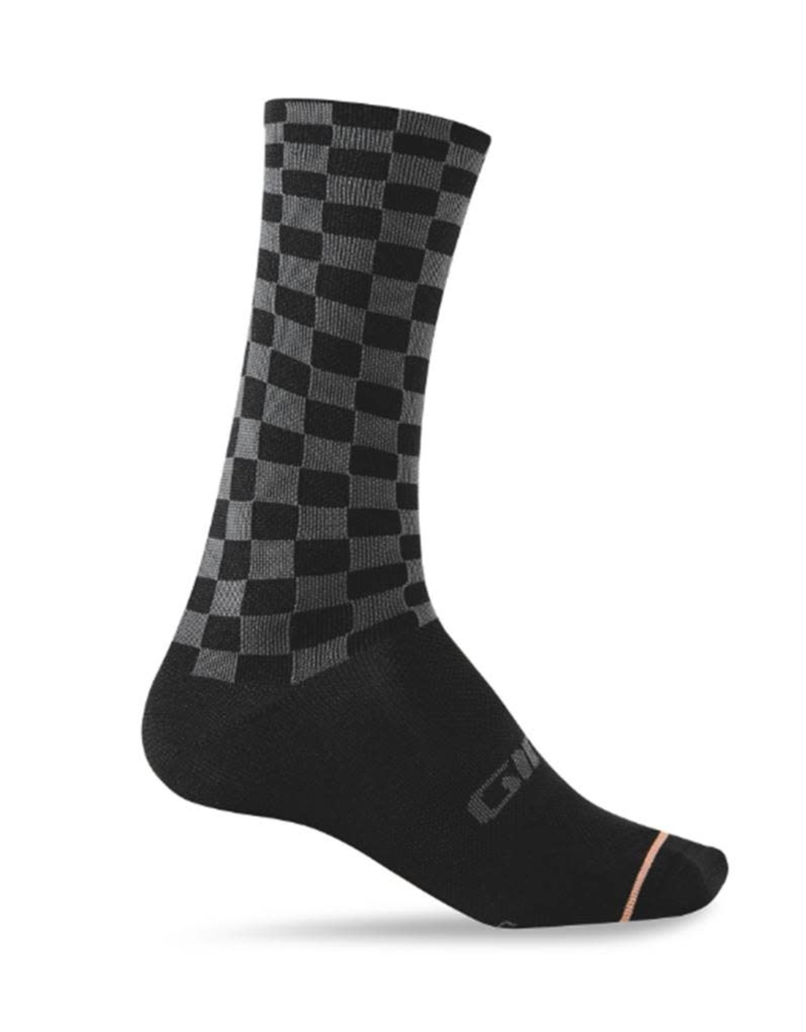 Giro Cycling Comp High Rise Socks Checkered