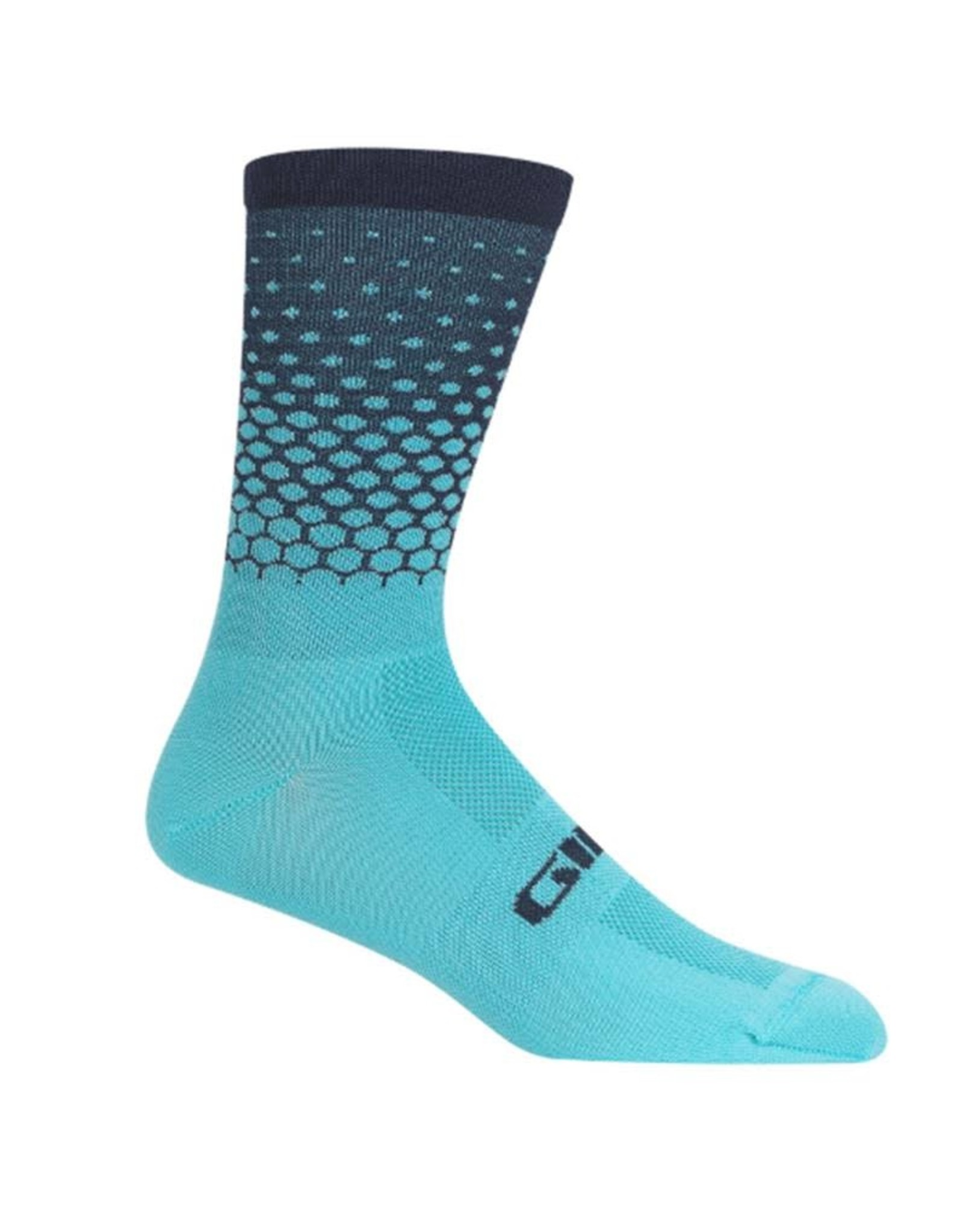 Giro Comp Racer High Rise Cycling Socks Iceberg