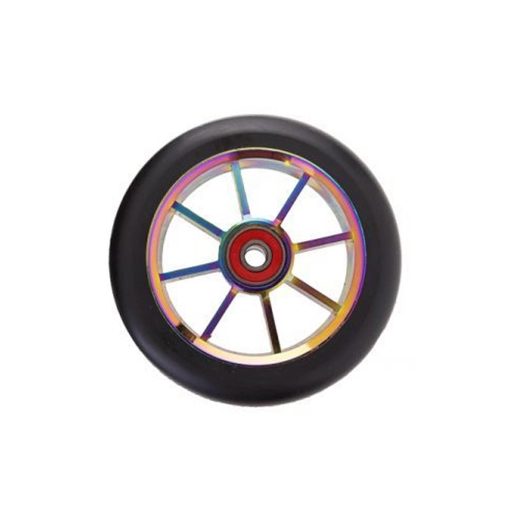 GRIT Grit Scooter Wheel 100mm Oil Slick 8 Spoke Each