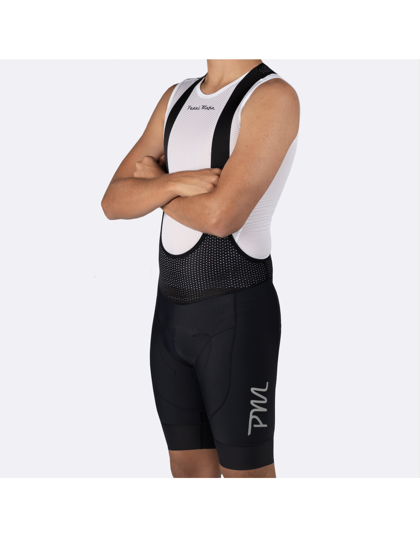 Pedal Mafia Mens Pro Bib - Elevation Black