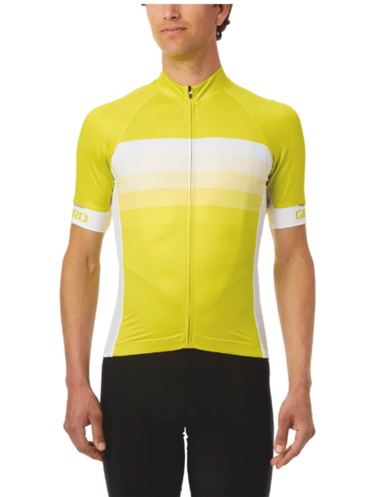 Giro Chrono Expert Cycling Jersey Citron Green