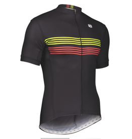 SOLO Solo Duo MK3 Cycling Jersey Black Red Yellow