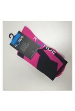 Ronde Renner Cycling Socks Pink Black