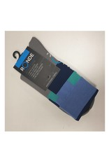 Ronde Renner Cycling Socks Grey Blue Green