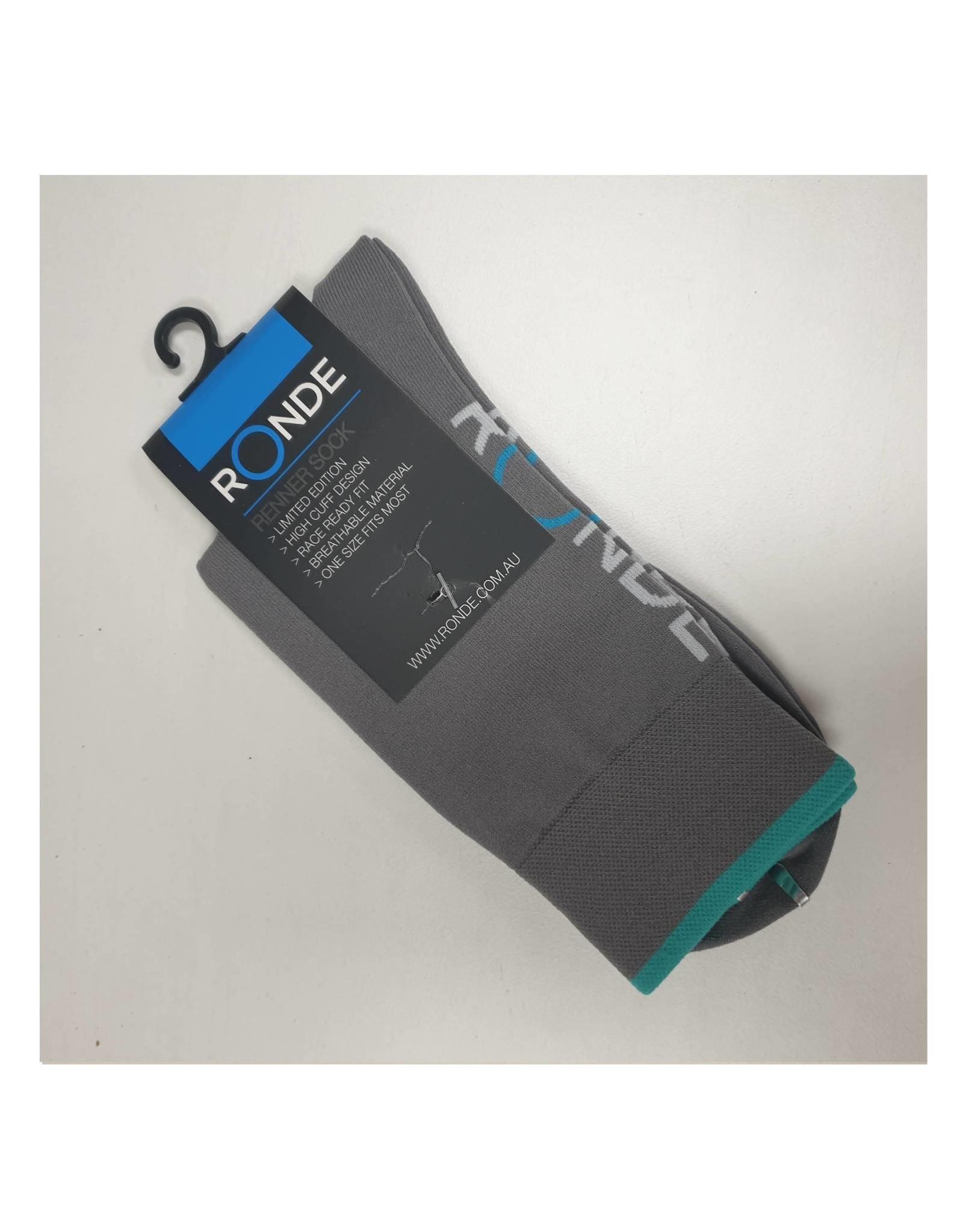 Ronde Renner Cycling Socks Grey