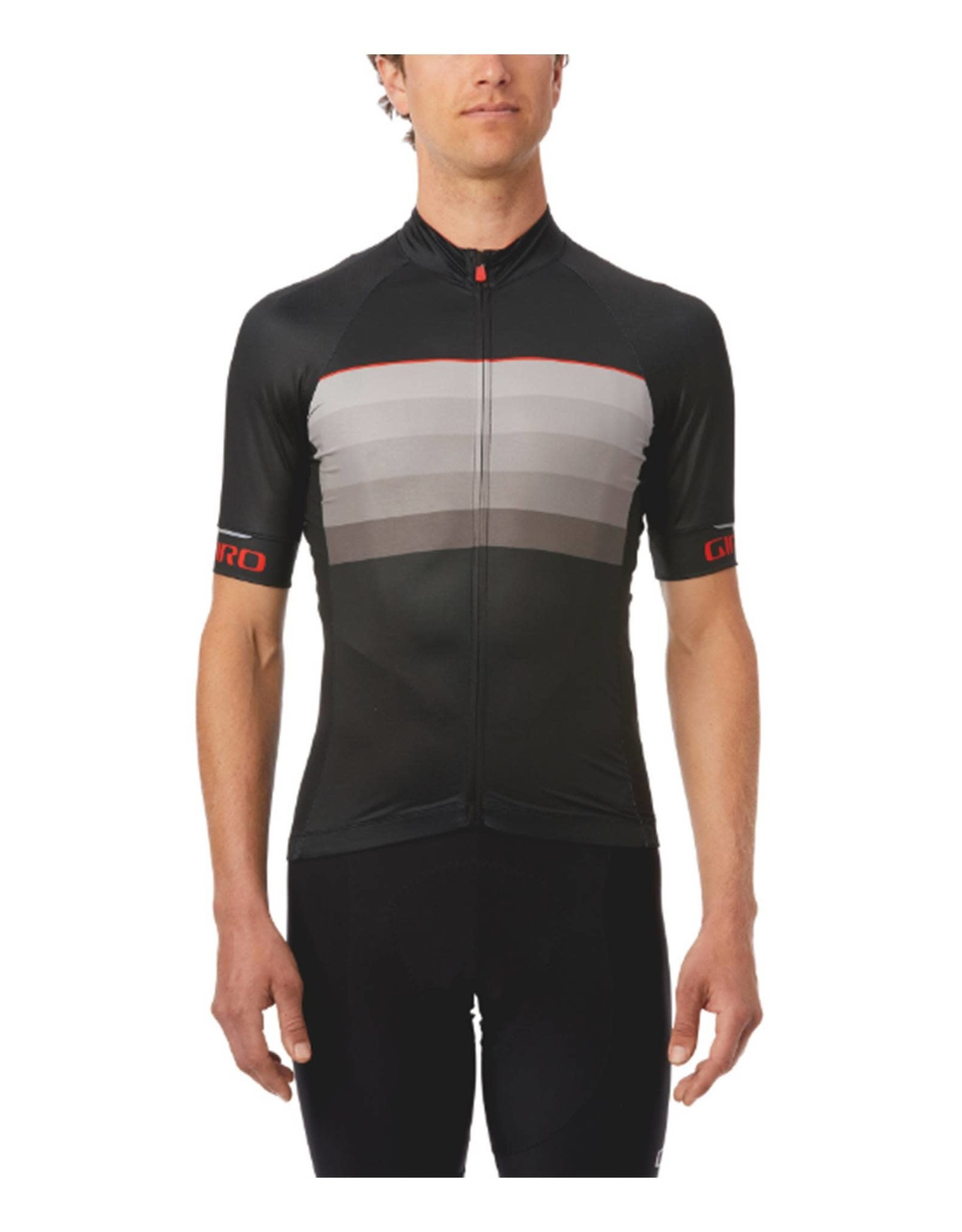Giro Chrono Expert Cycling Jersey Black / Red Horizon