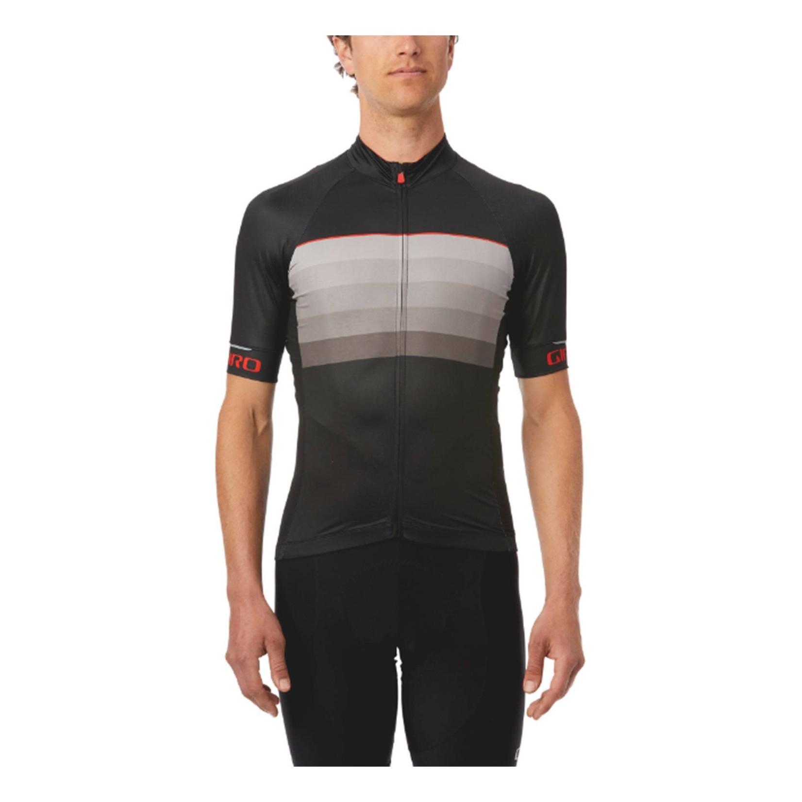 Giro Chrono Expert Cycling Jersey Black / Red Horizon