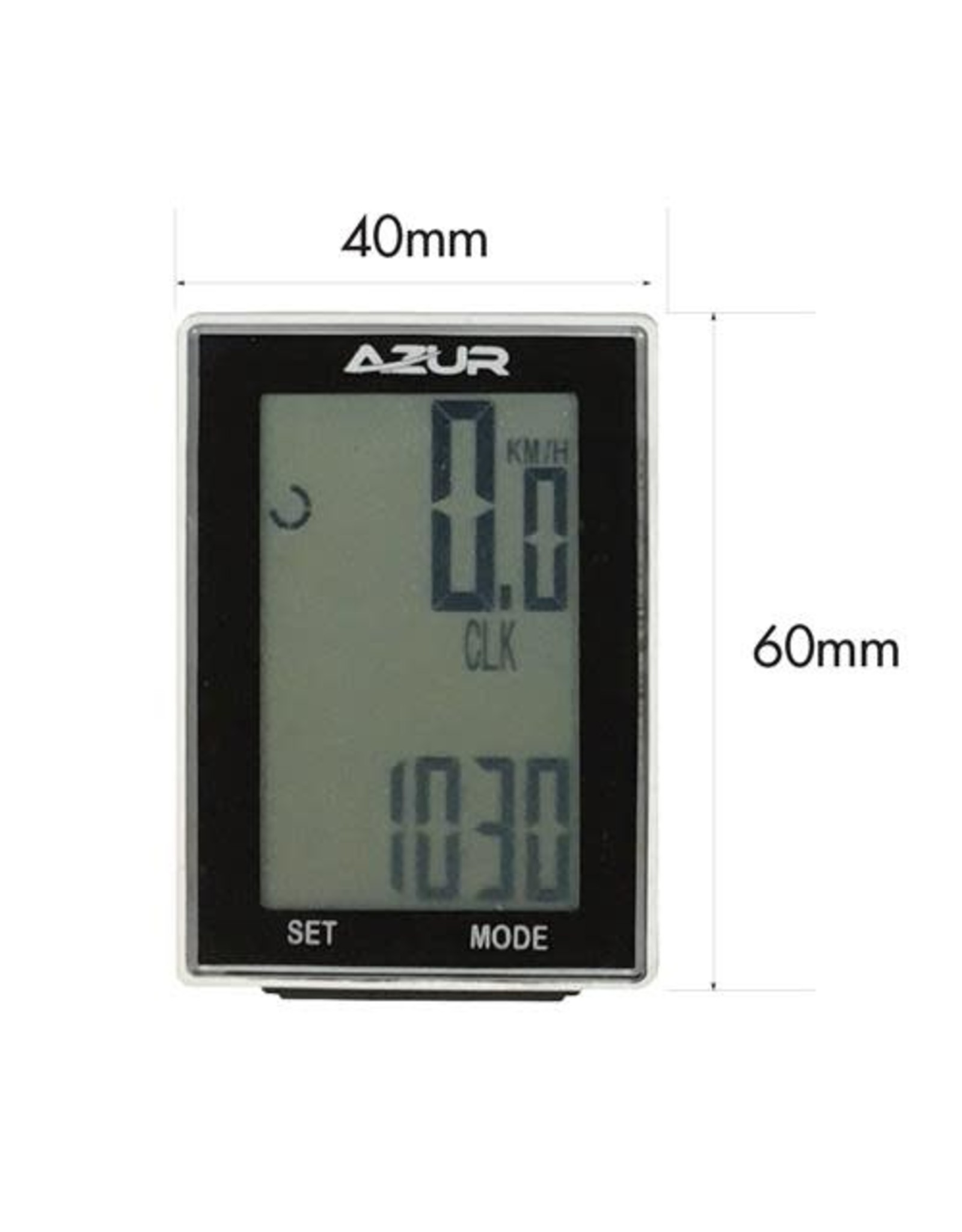Azur Wireless Cycling Computer 15 Function