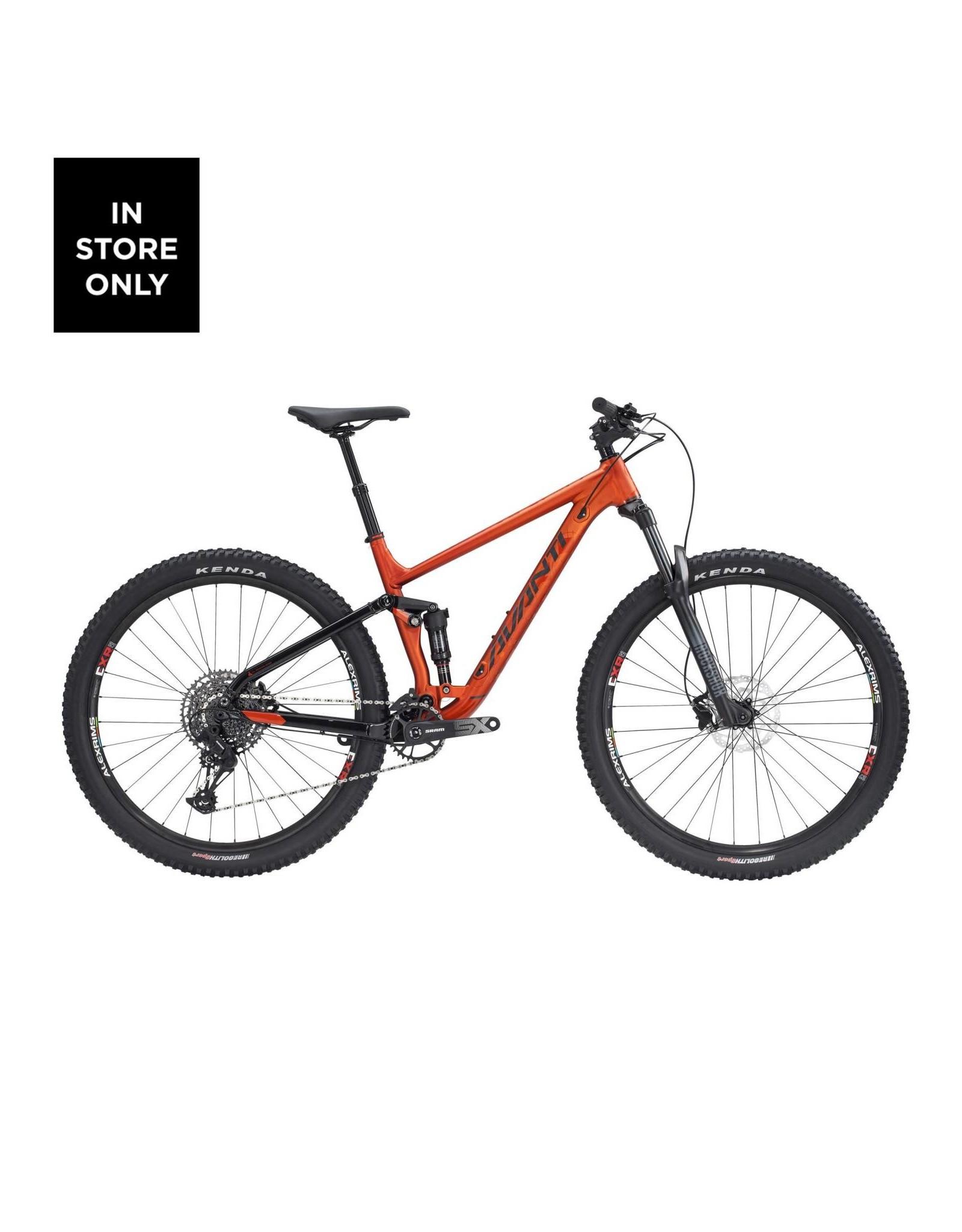 AVANTI Avanti Hammer S 2021 Orange/Black