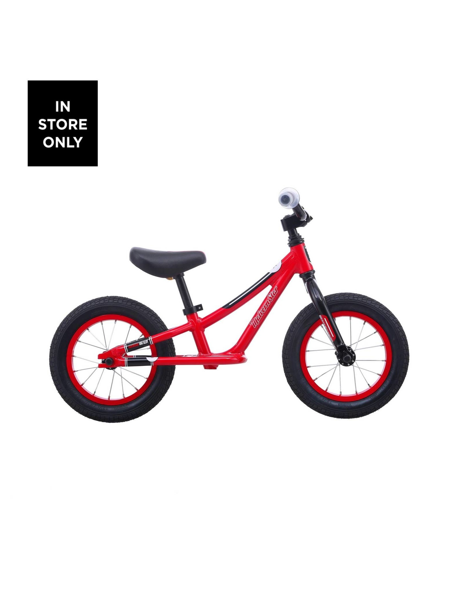 "MALVERN STAR Malvern Star Lilstar 12"" 2021 Red/Black"