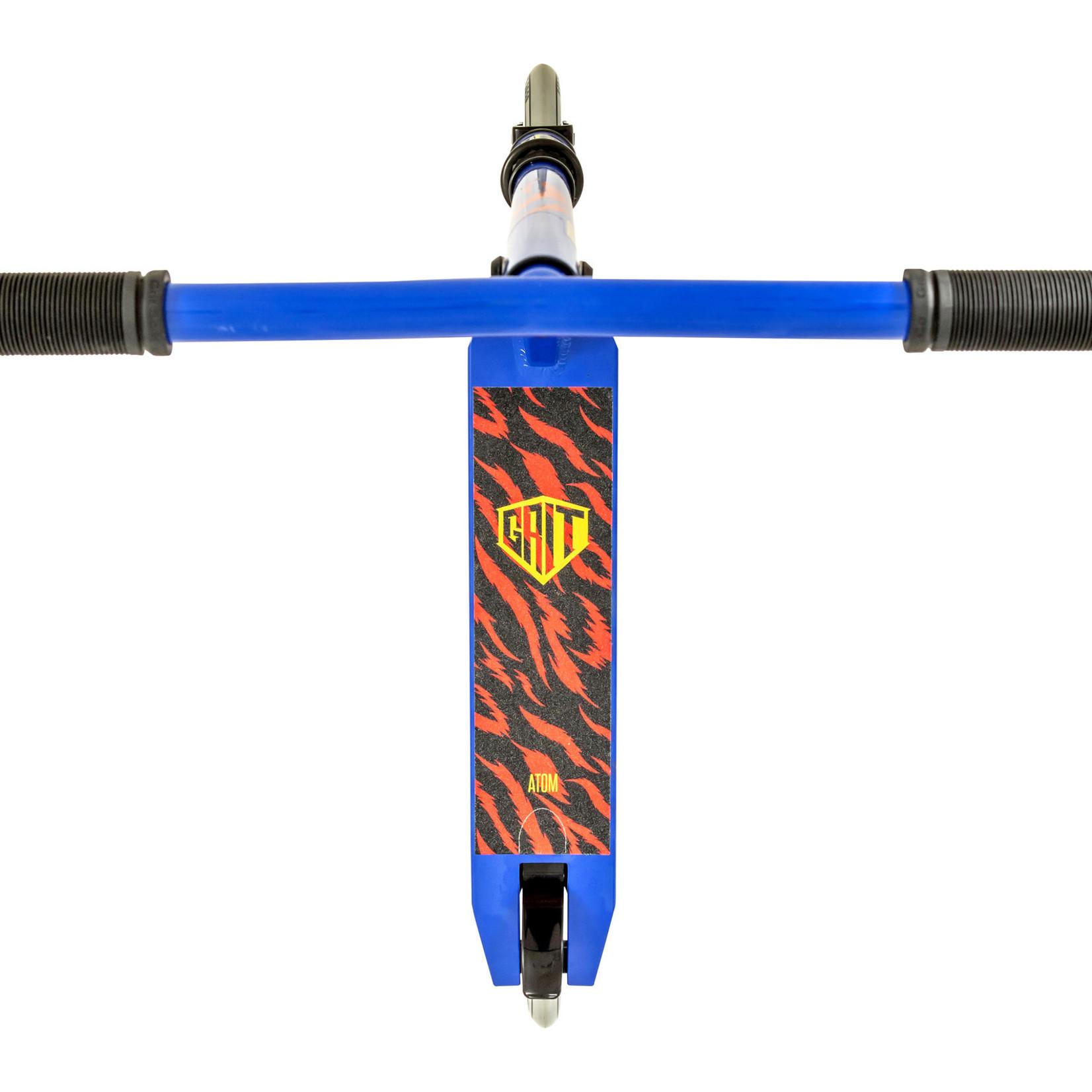 GRIT Grit Atom Height Adjustable Bars 2021 Blue Scooter