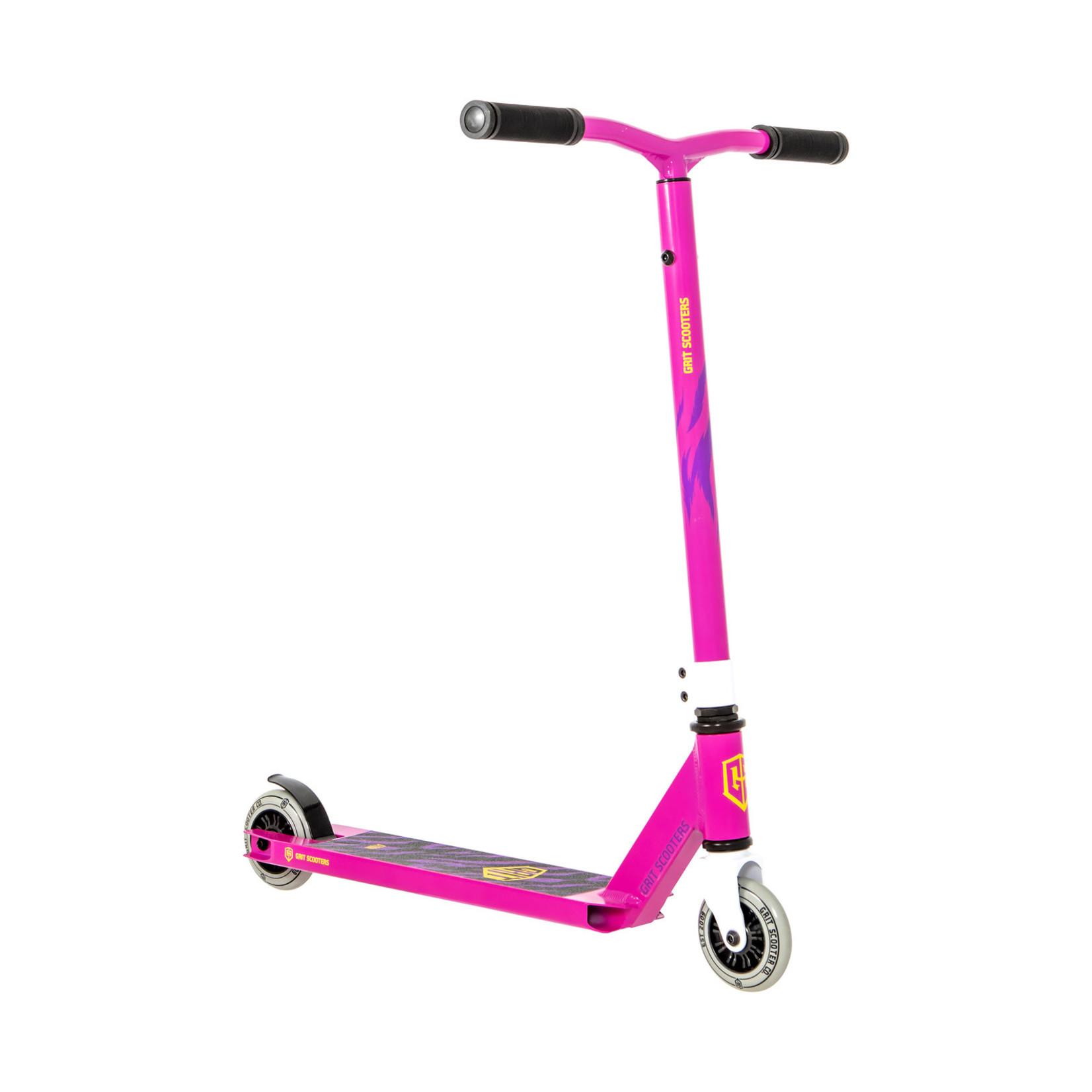GRIT Grit Atom Height Adjustable Bars 2021 Pink Scooter