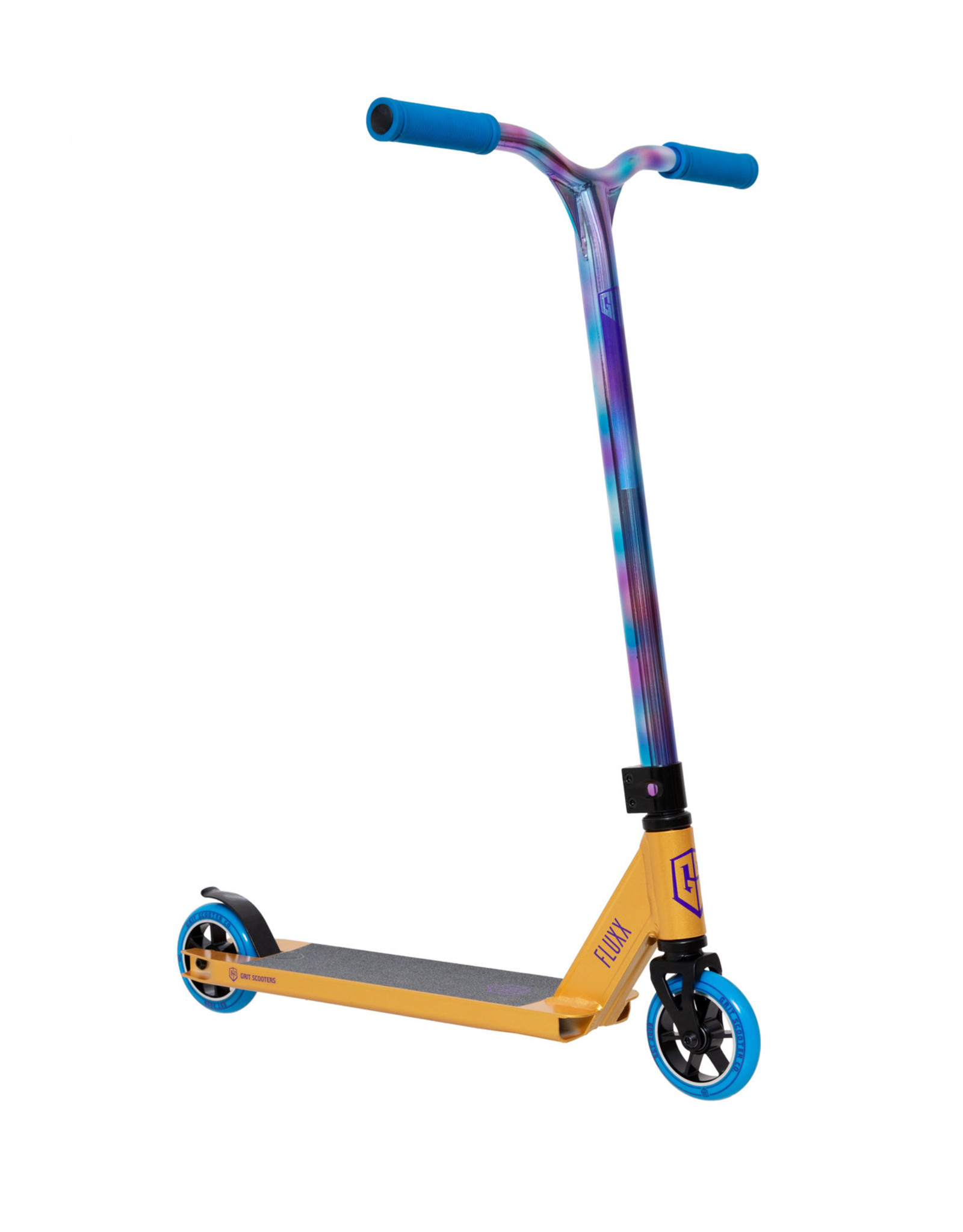 GRIT Grit Fluxx 2021 Gold / Neo Painted Scooter