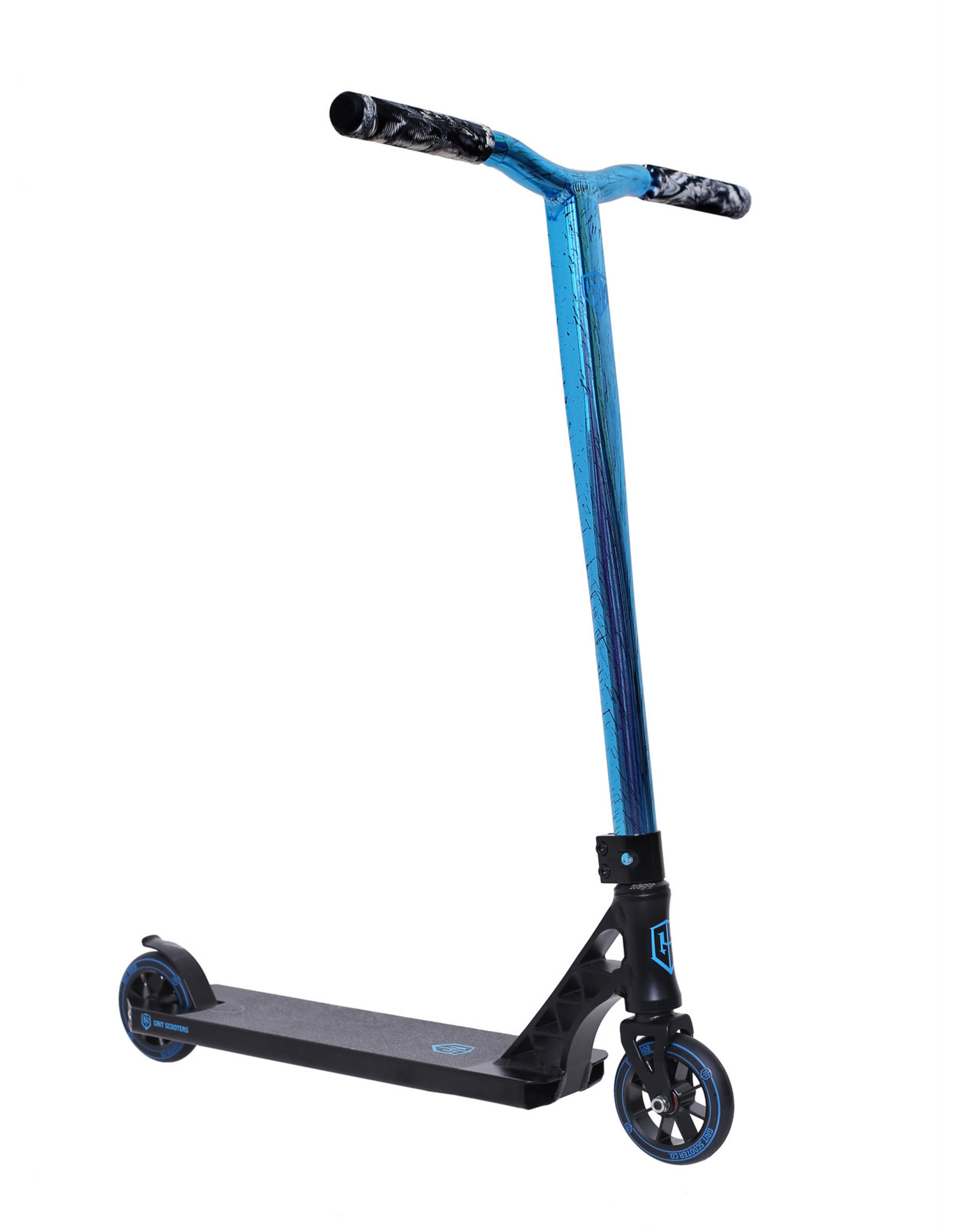 GRIT Grit Elite 2021 Black / Vapour Blue Black Laser Scooter
