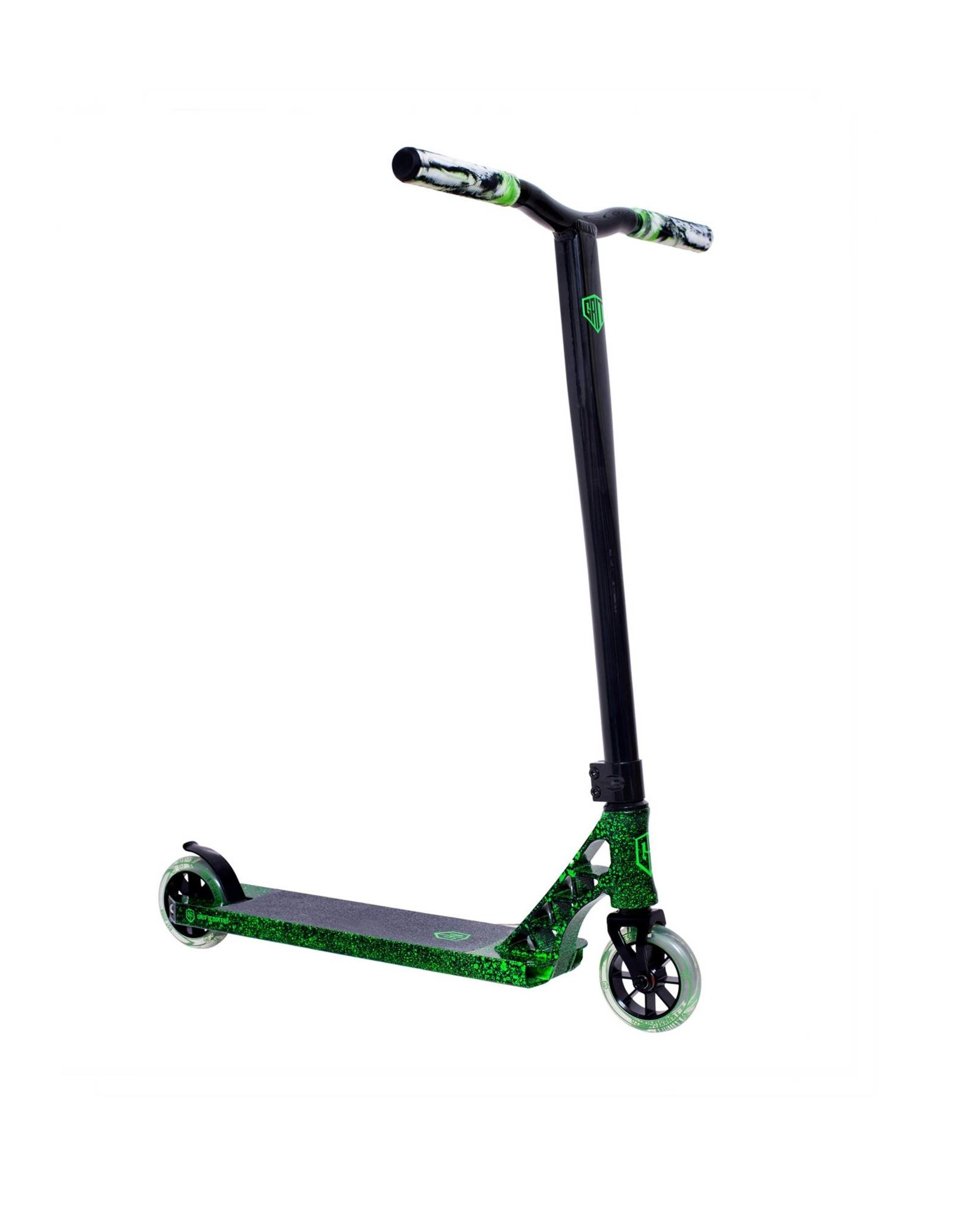 GRIT Grit Elite 2021 Black Green Marble / Black Scooter