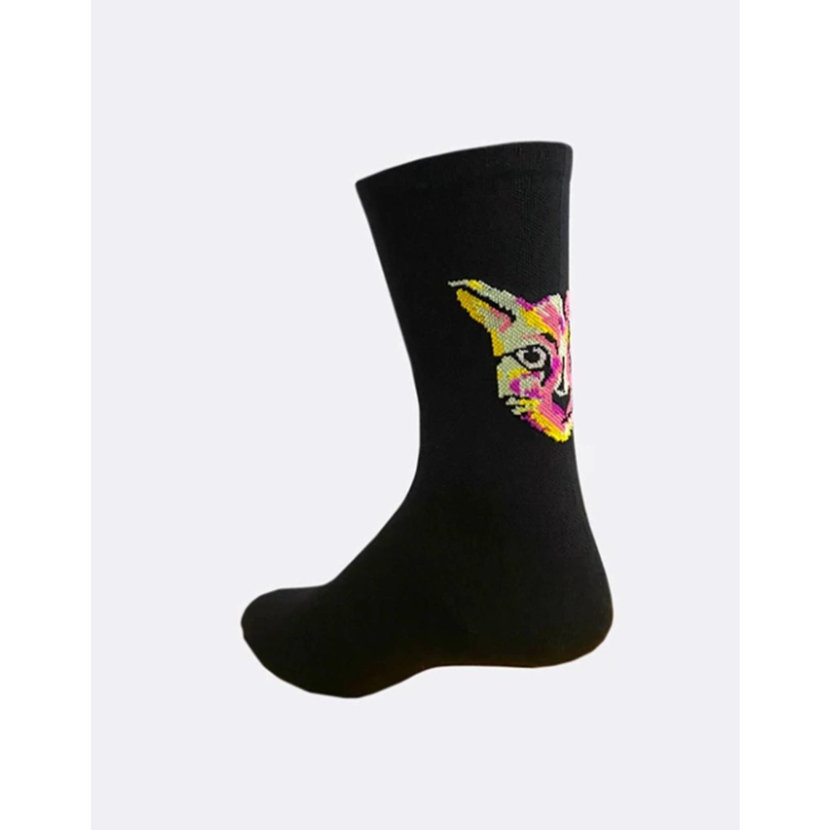 Pedal Mafia Artist Series Sock Techno Cat