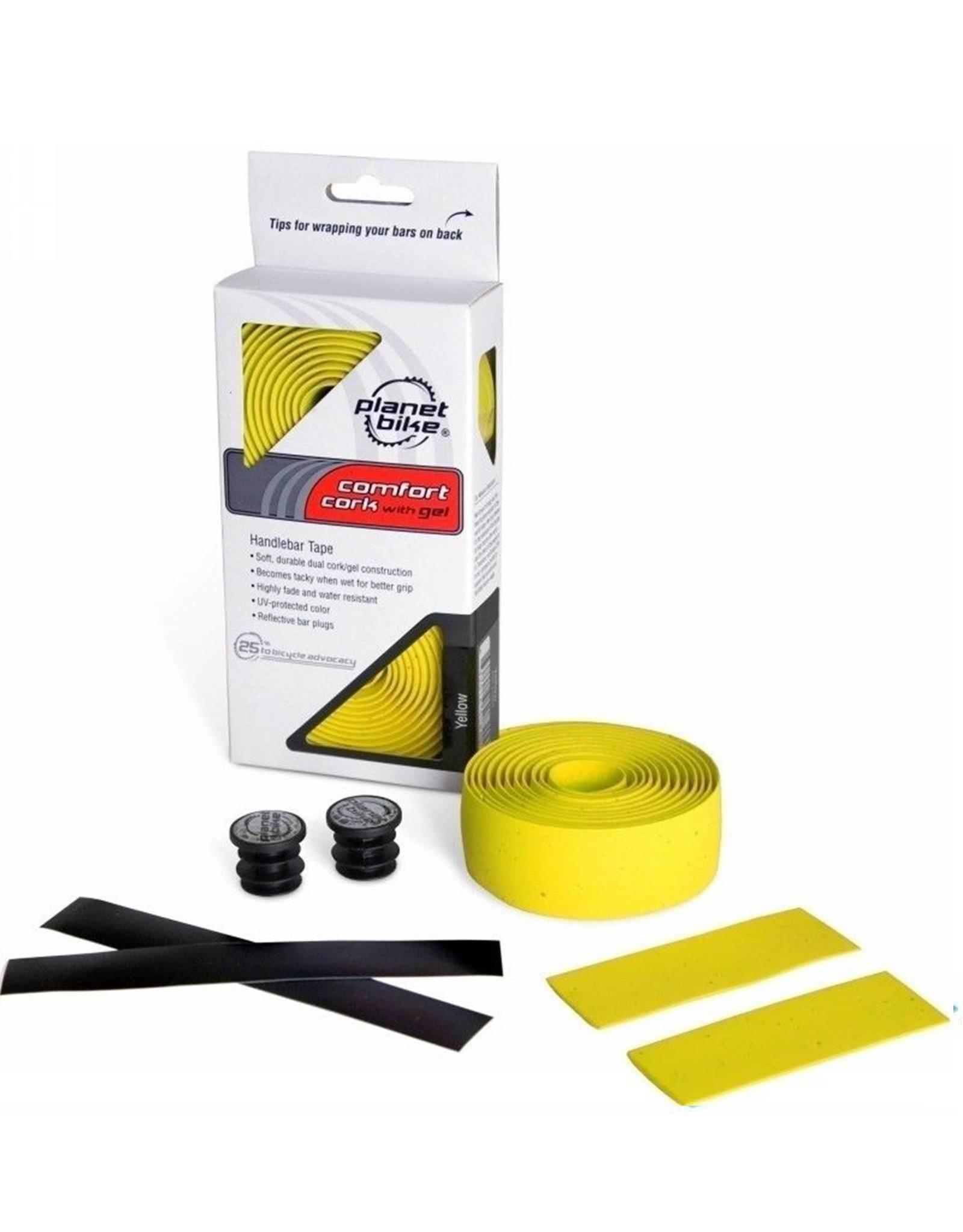 Planet Bike Handlebar Tape Yellow