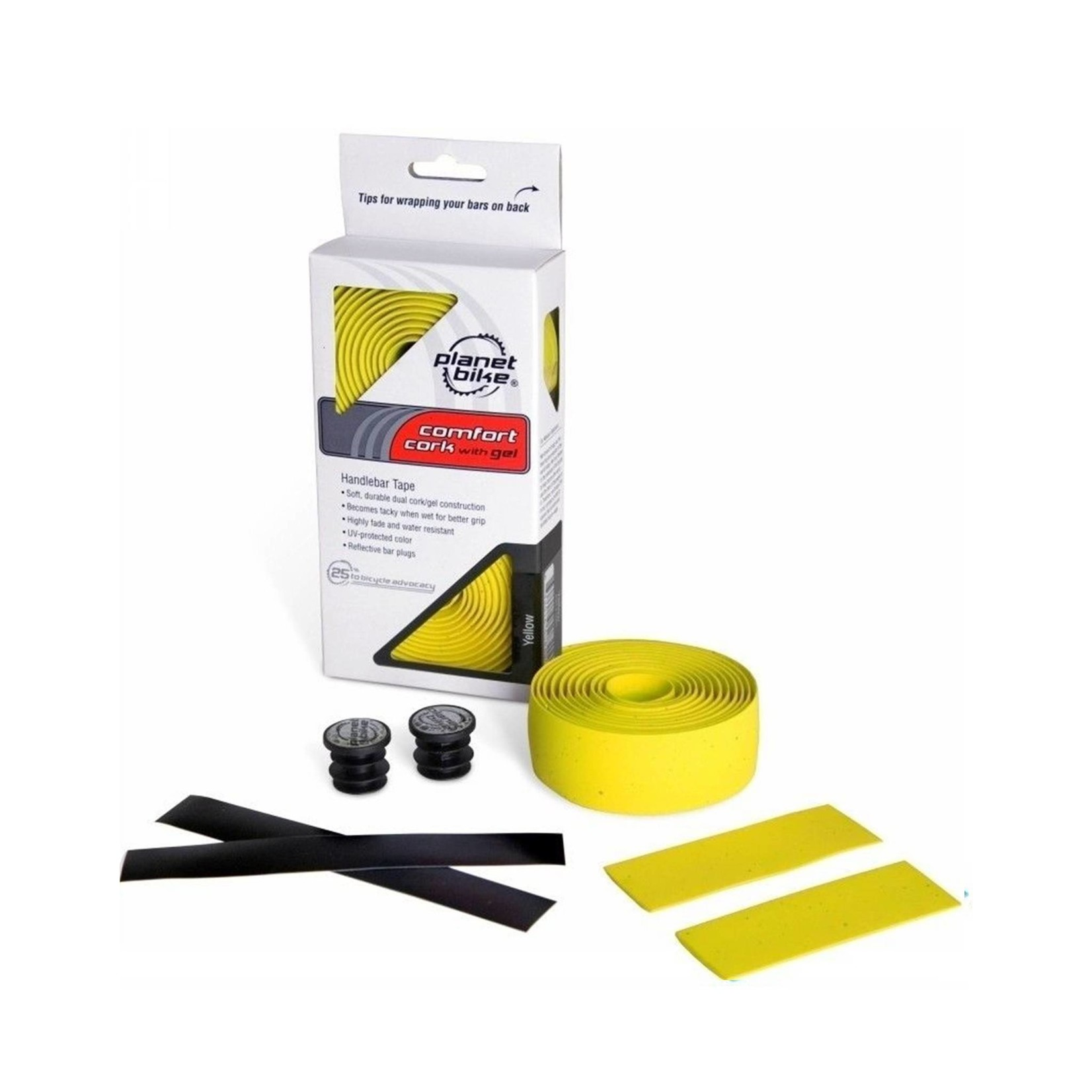 Planet Bike Bar Tape Yellow