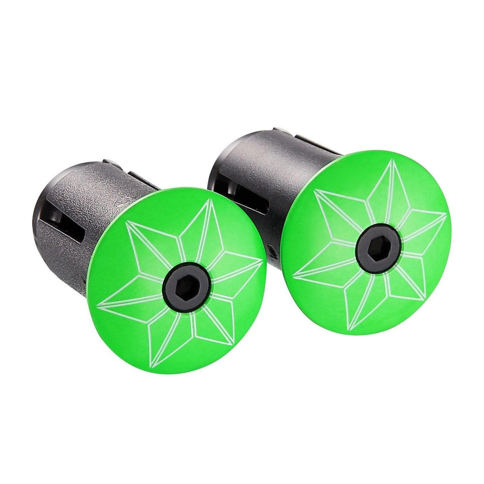Supacaz Super Sticky Kush Bar Tape Neon Green Star Fade