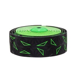 Supacaz Super Sticky Kush Bar Tape Neon Green Star Fade