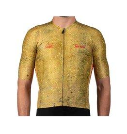 Pedal Mafia PM x OC Drop Cloth Mustard Cycling Jersey