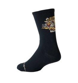 Pedal Mafia Fast Times Black Sock L/XL