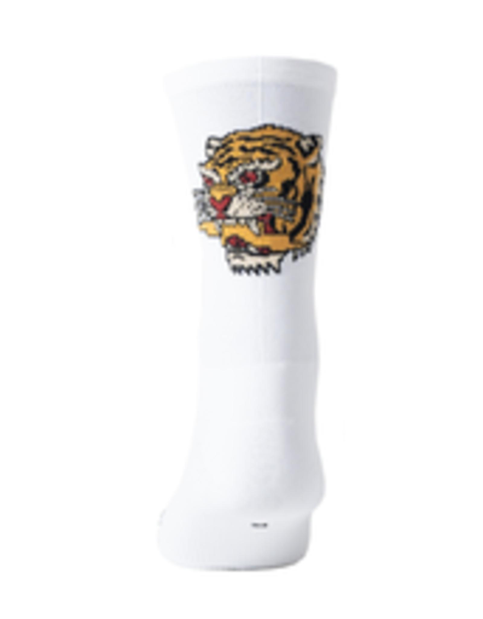 Pedal Mafia Fast Times White Sock L/XL