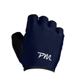 Pedal Mafia Short Finger Cycling Gloves Navy/White