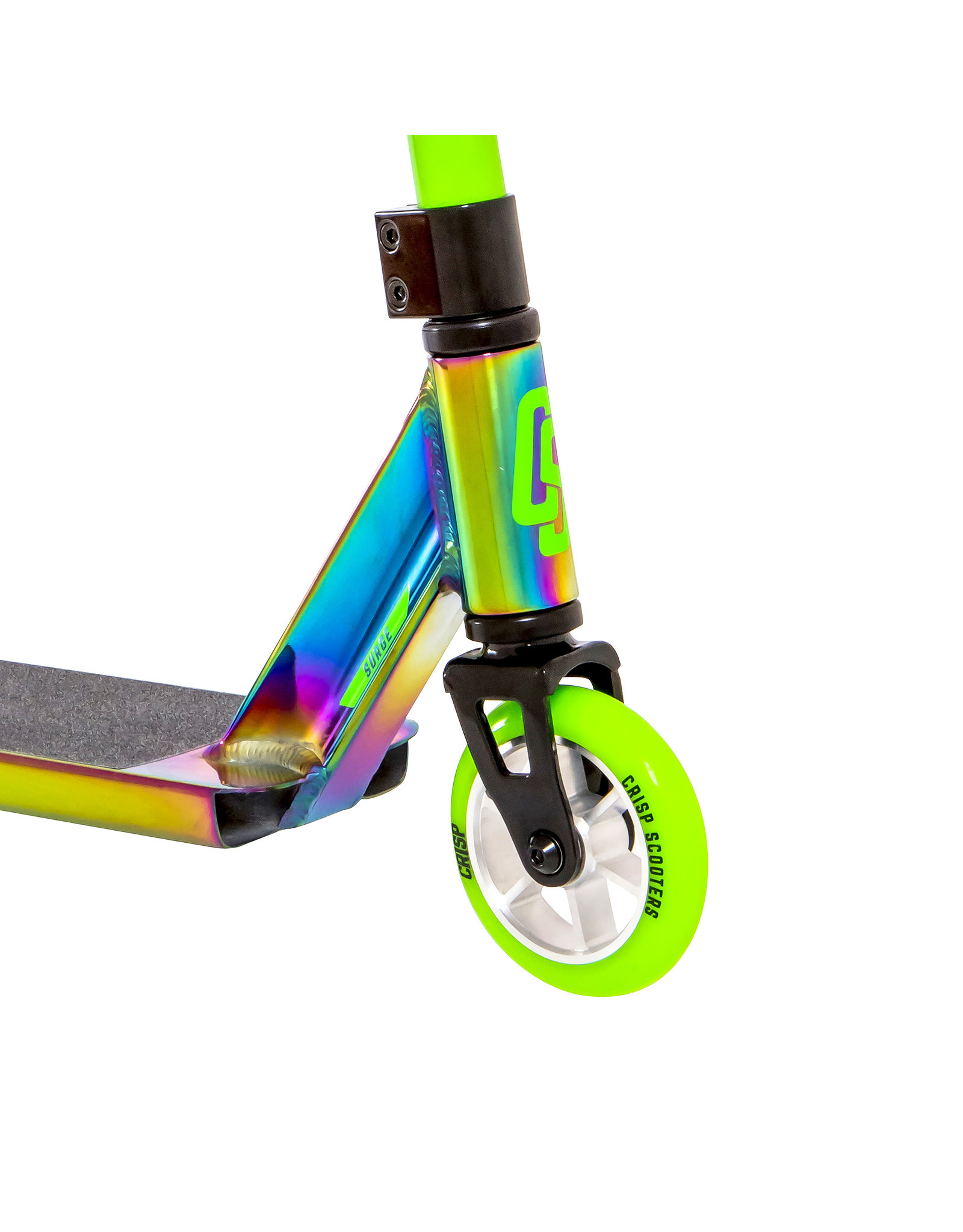 CRISP Crisp Surge Scooter Oil Slick Green