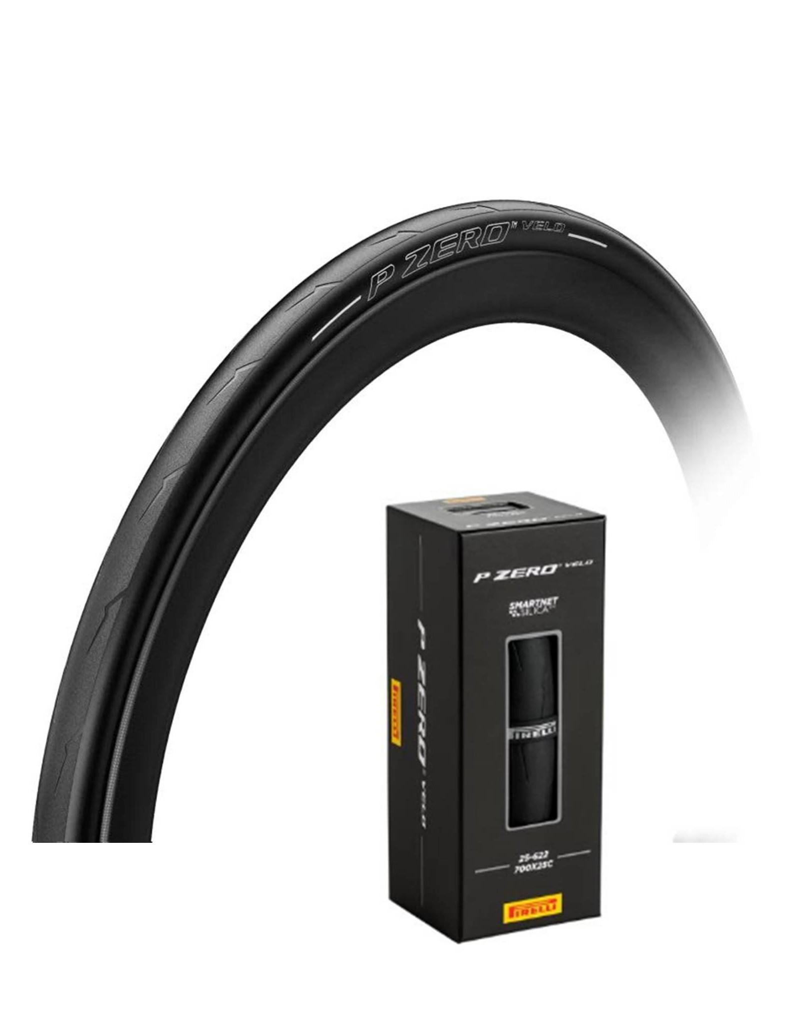 Pirelli Pzero Velo 700 x 25 Silver Tyre