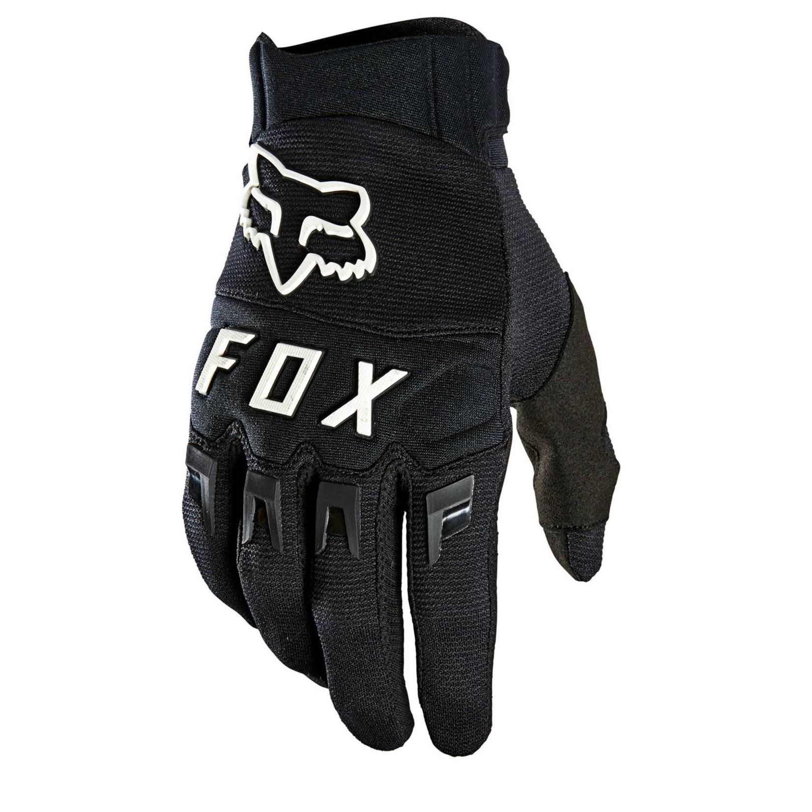 Fox Dirtpaw Mountain Bike Glove Black/White