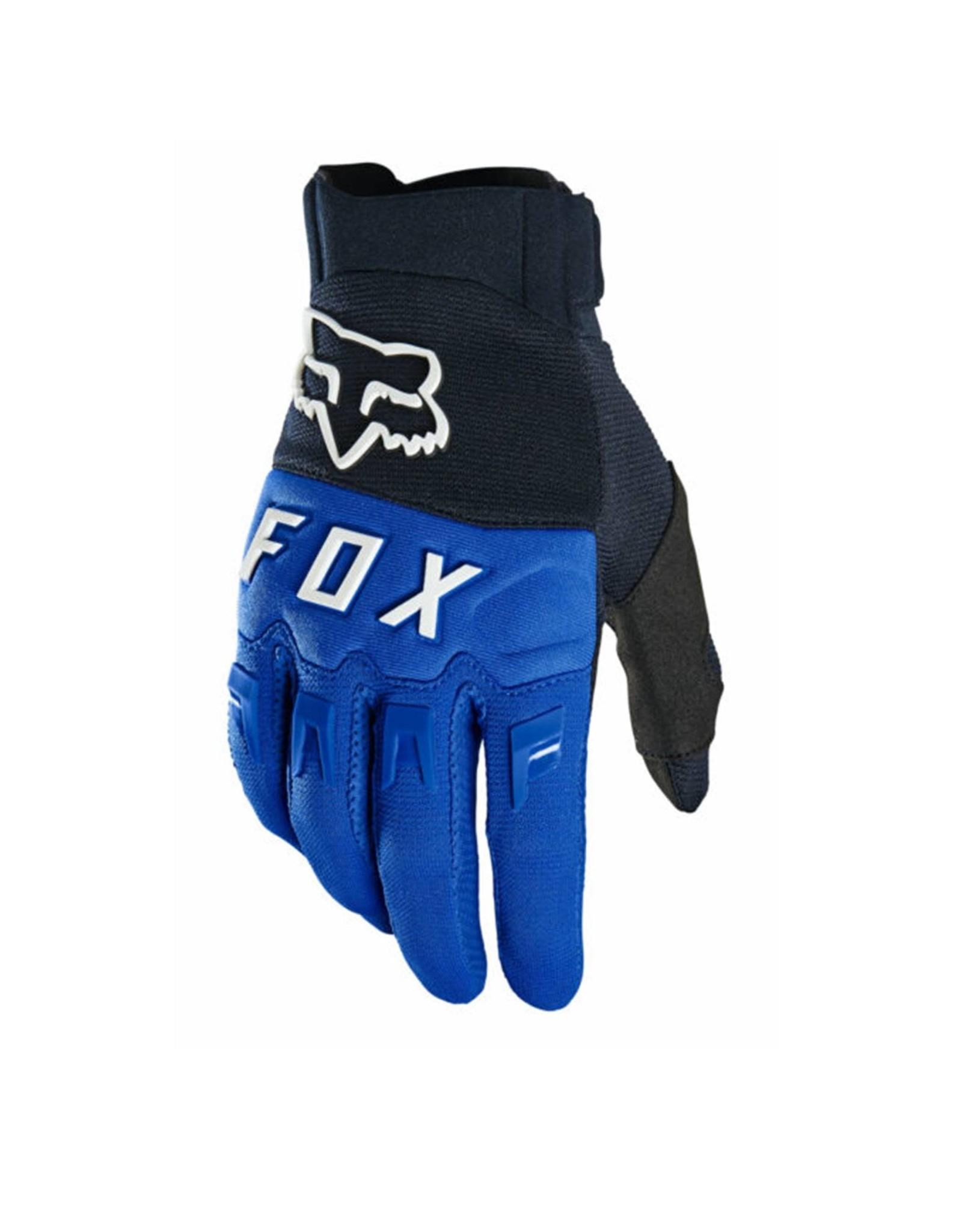 Fox Dirtpaw Mountain Bike Glove Blue/White