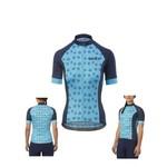 Giro Chrono Sport Womens Cycling Jersey Iceburg Blue Palm Burst