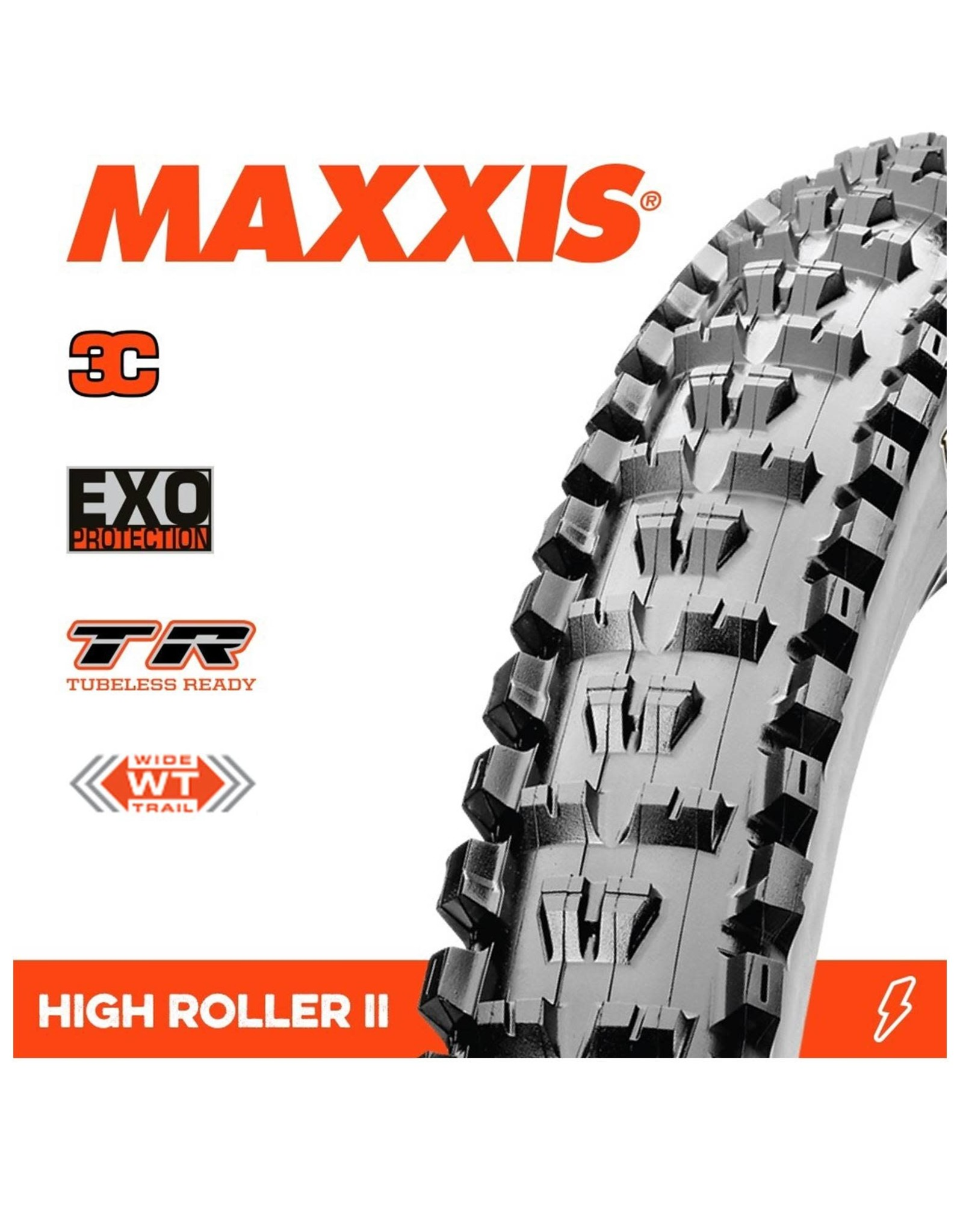 Maxxis Highroller 2 29 x 2.5WT 3C EXO TR Tyre