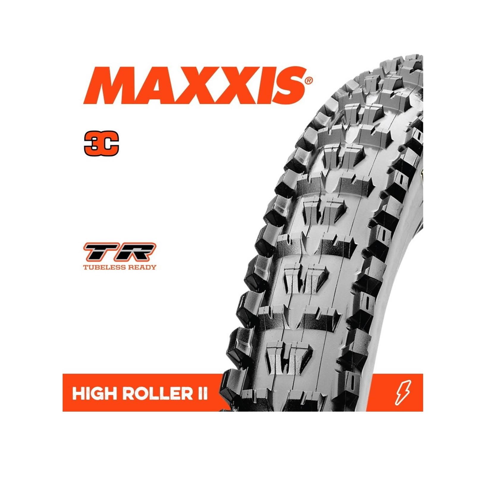 Maxxis High Roller II 27.5 x 2.60 TR EXO 3C Tyre