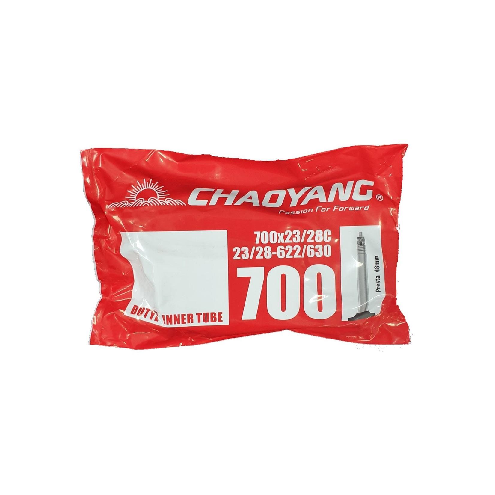 Chaoyang 700 x 23/28 Presta 48mm Bag Tube