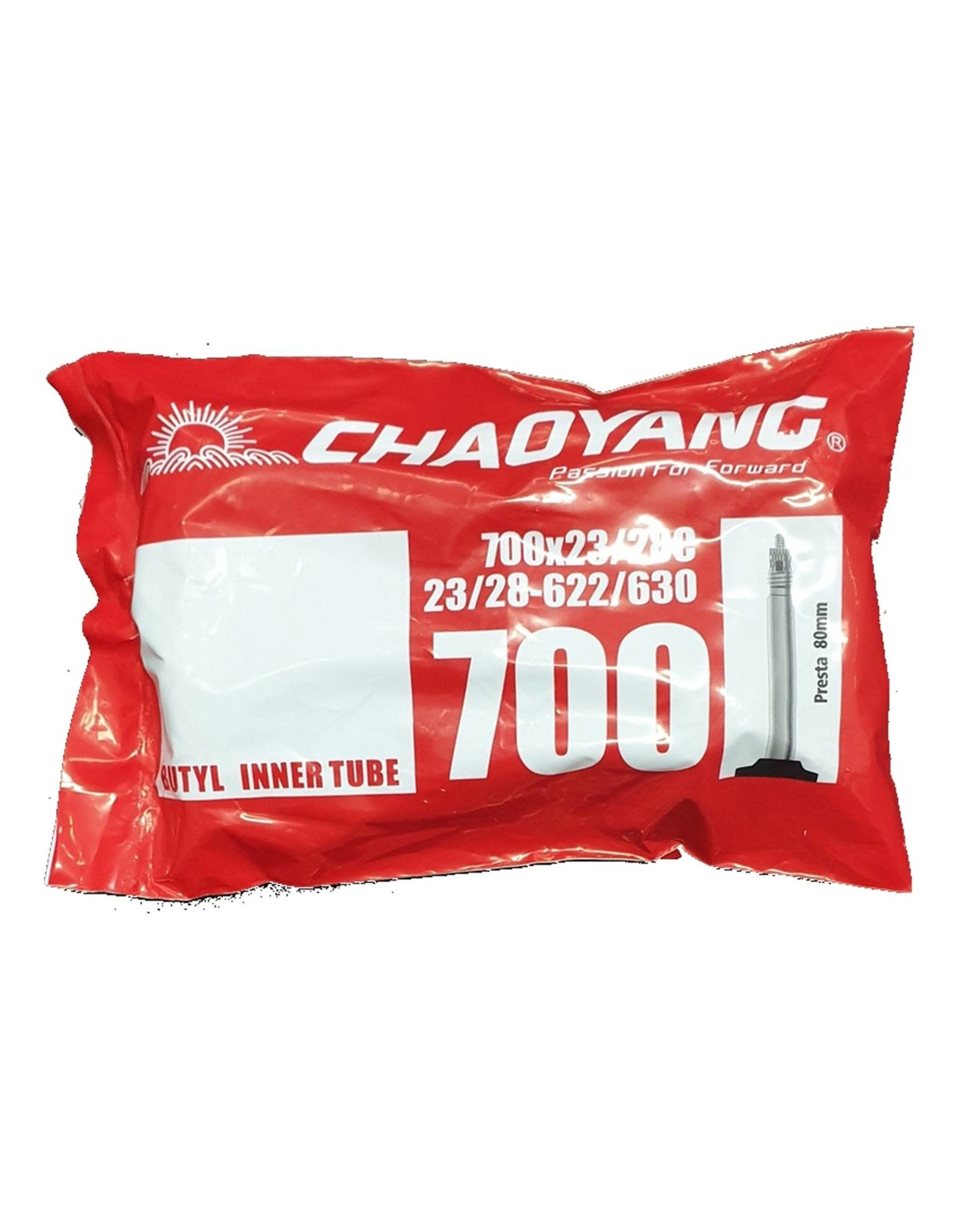 Chaoyang 700 x 23/28 Presta 80mm Bag Tube