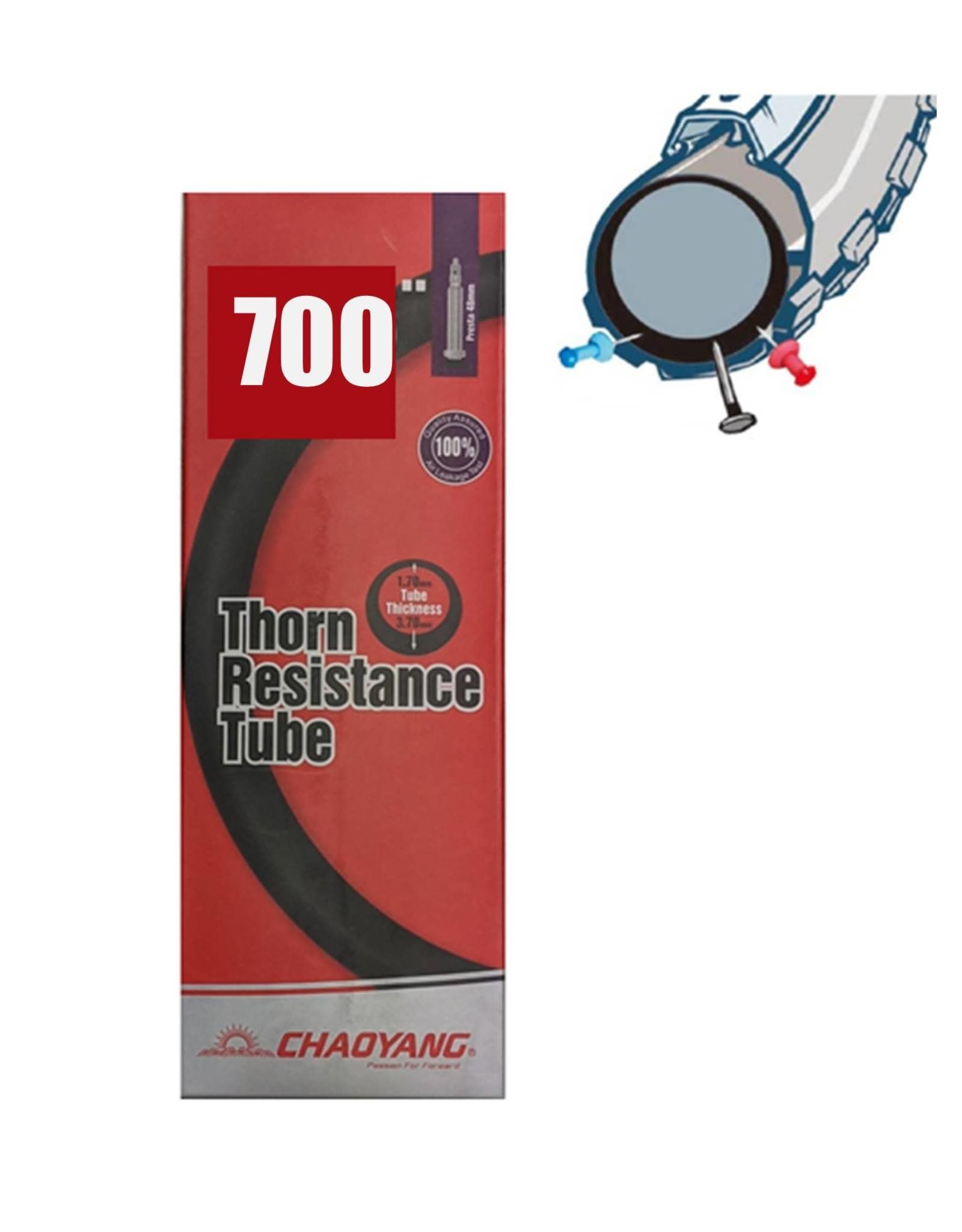 Chaoyang 700 x 25/32 Thorn Presta Tube