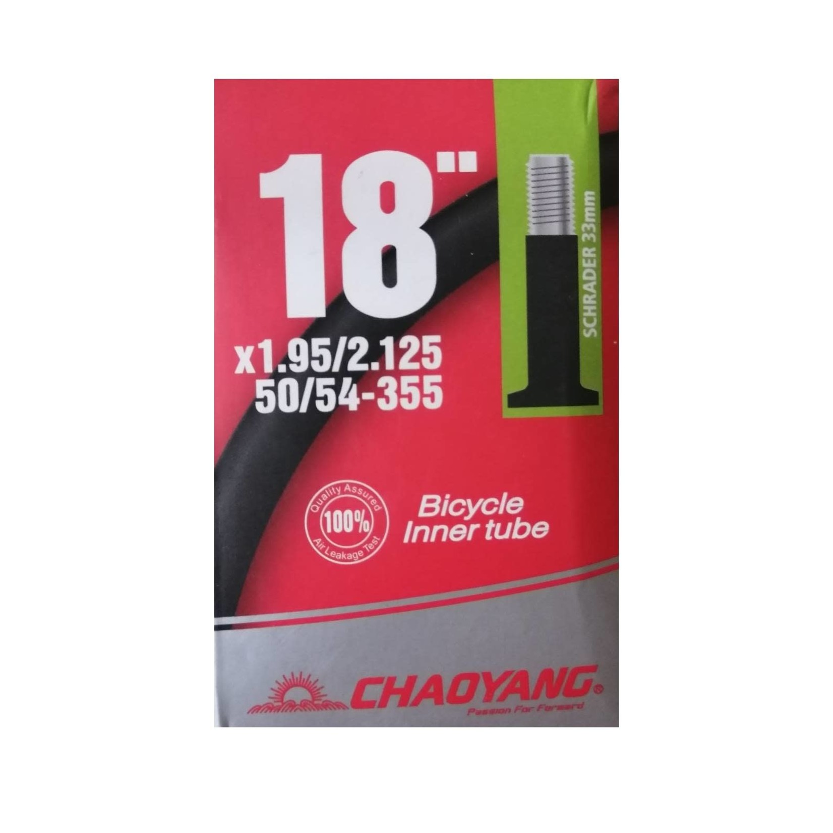 Chaoyang 18 x 1.95/2.125 Schrader Tube