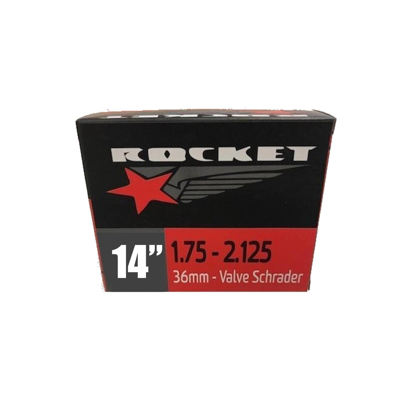Rocket 14 x 1.75/2.125 Schrader Tube
