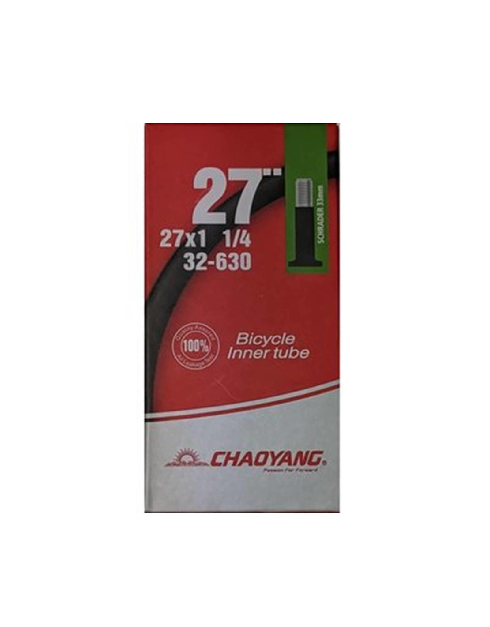 Chaoyang 27 x 1 1/4 Schrader Tube
