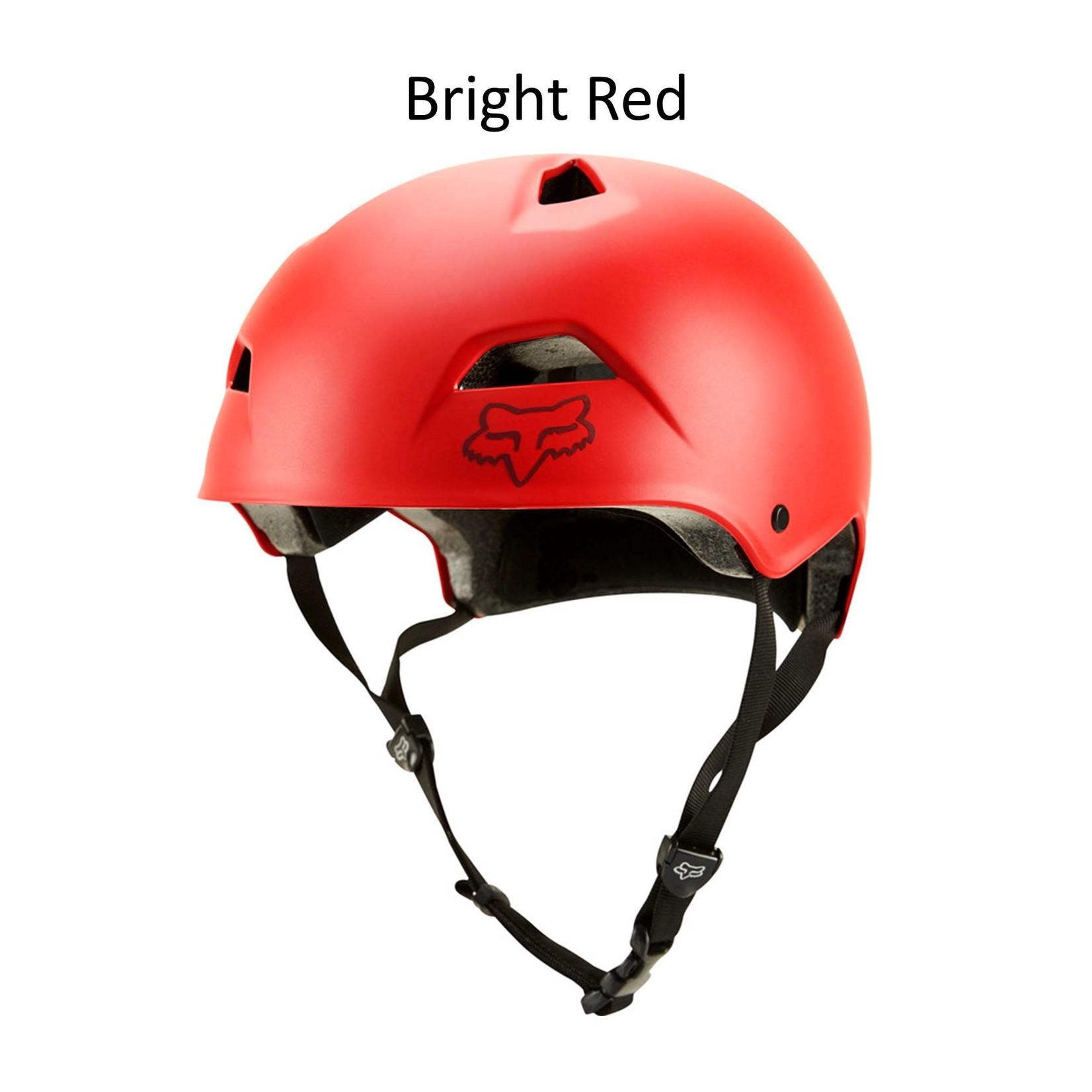 Fox Flight Sport Helmet Bright Red