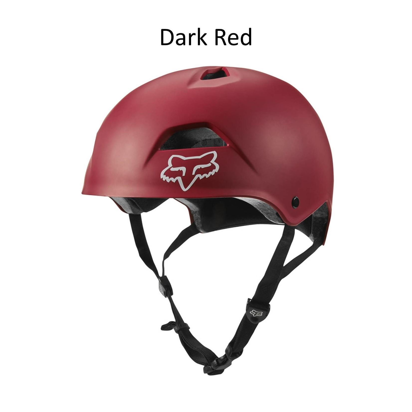 Fox Flight Sport Helmet Dark Red