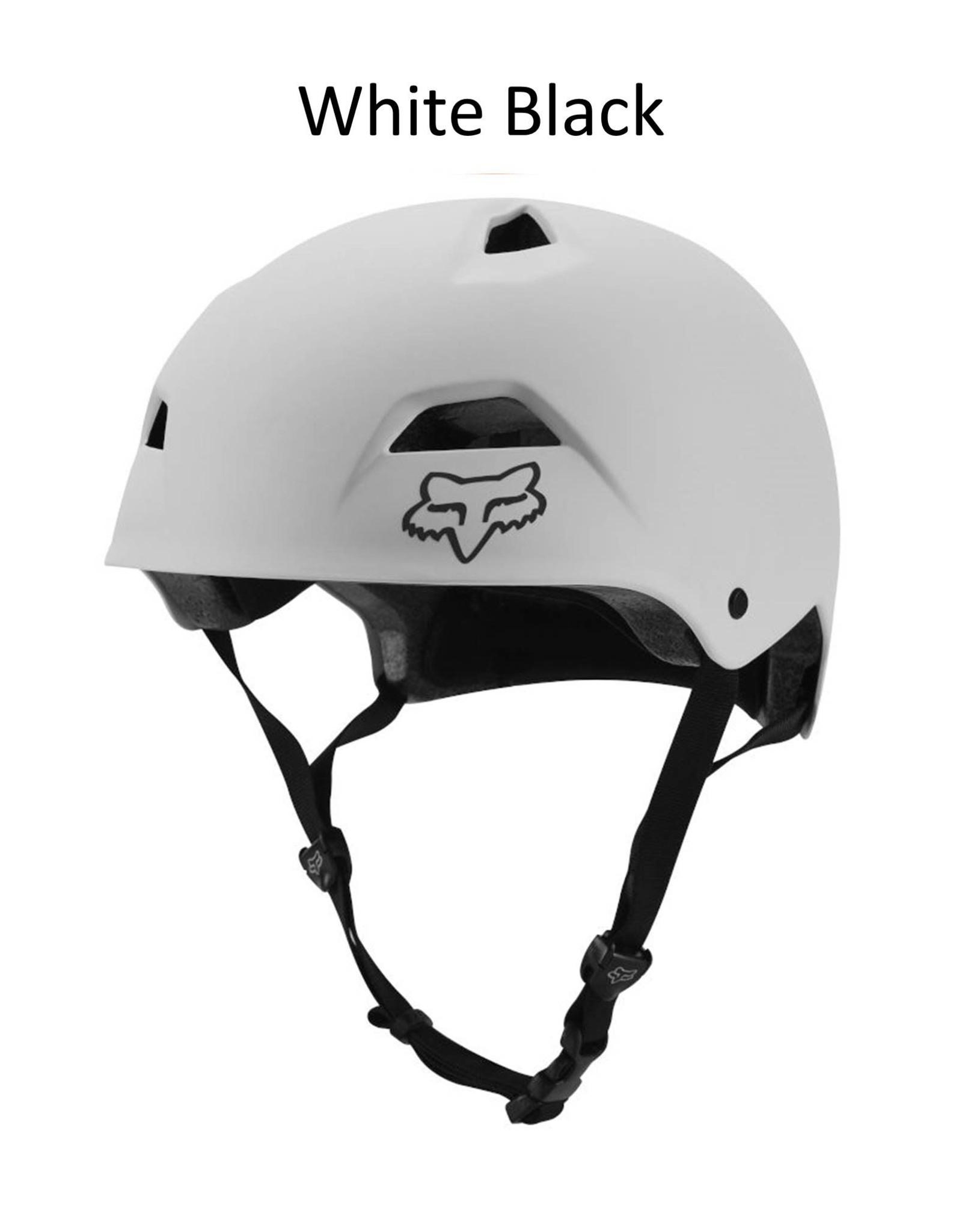 Fox Flight Sport Helmet White Black