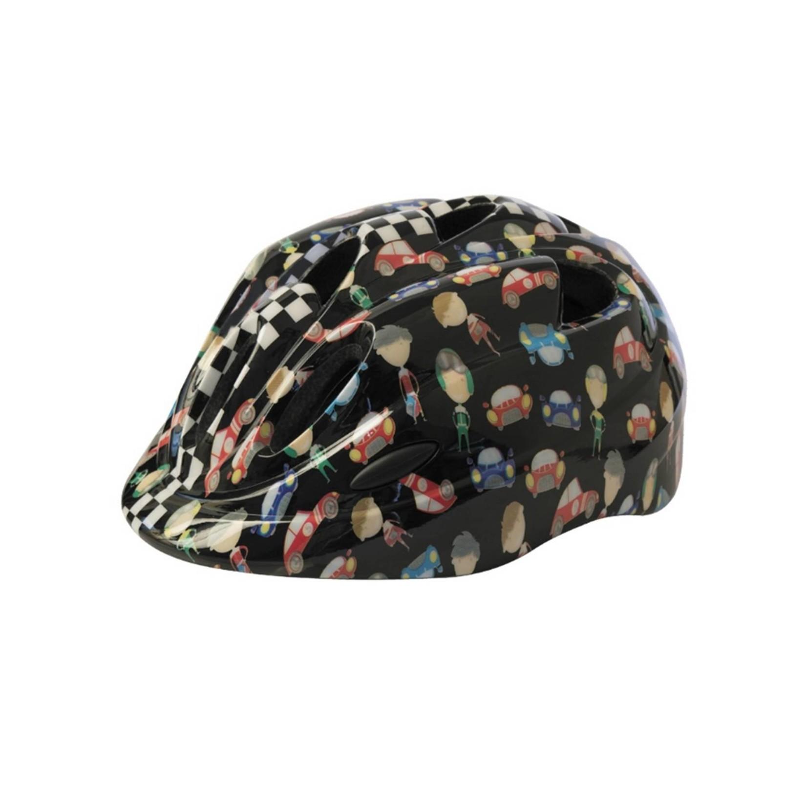 Azur Cars Kids Helmet