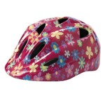 Azur Flowers Kids Helmet