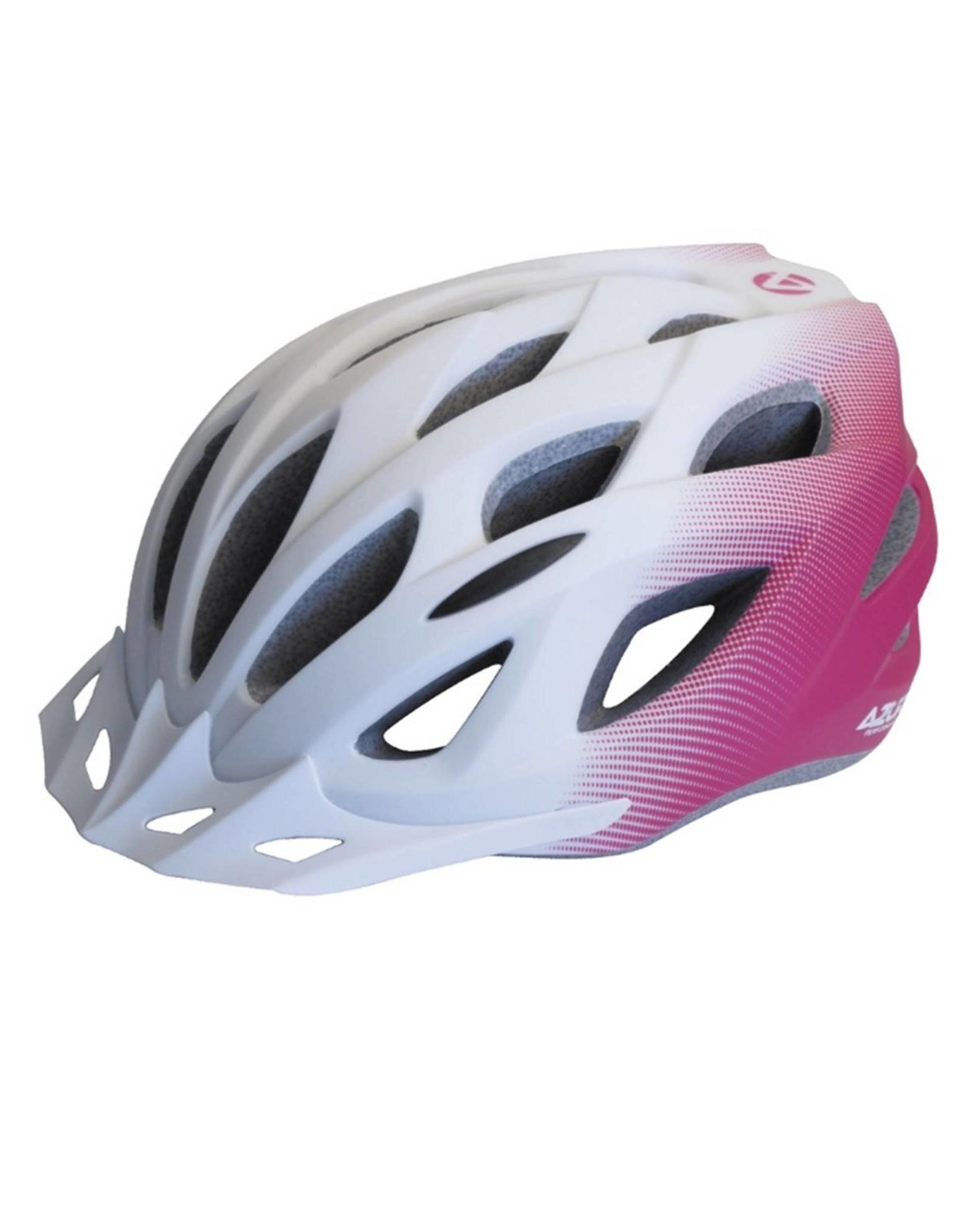 Azur L61 White/Pink Fade Helmet