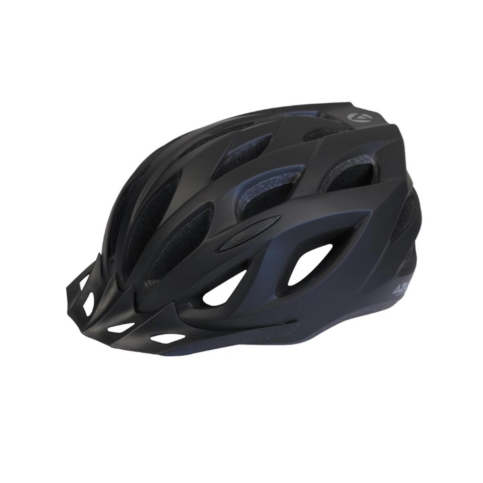 Azur L61 Satin Black Helmet