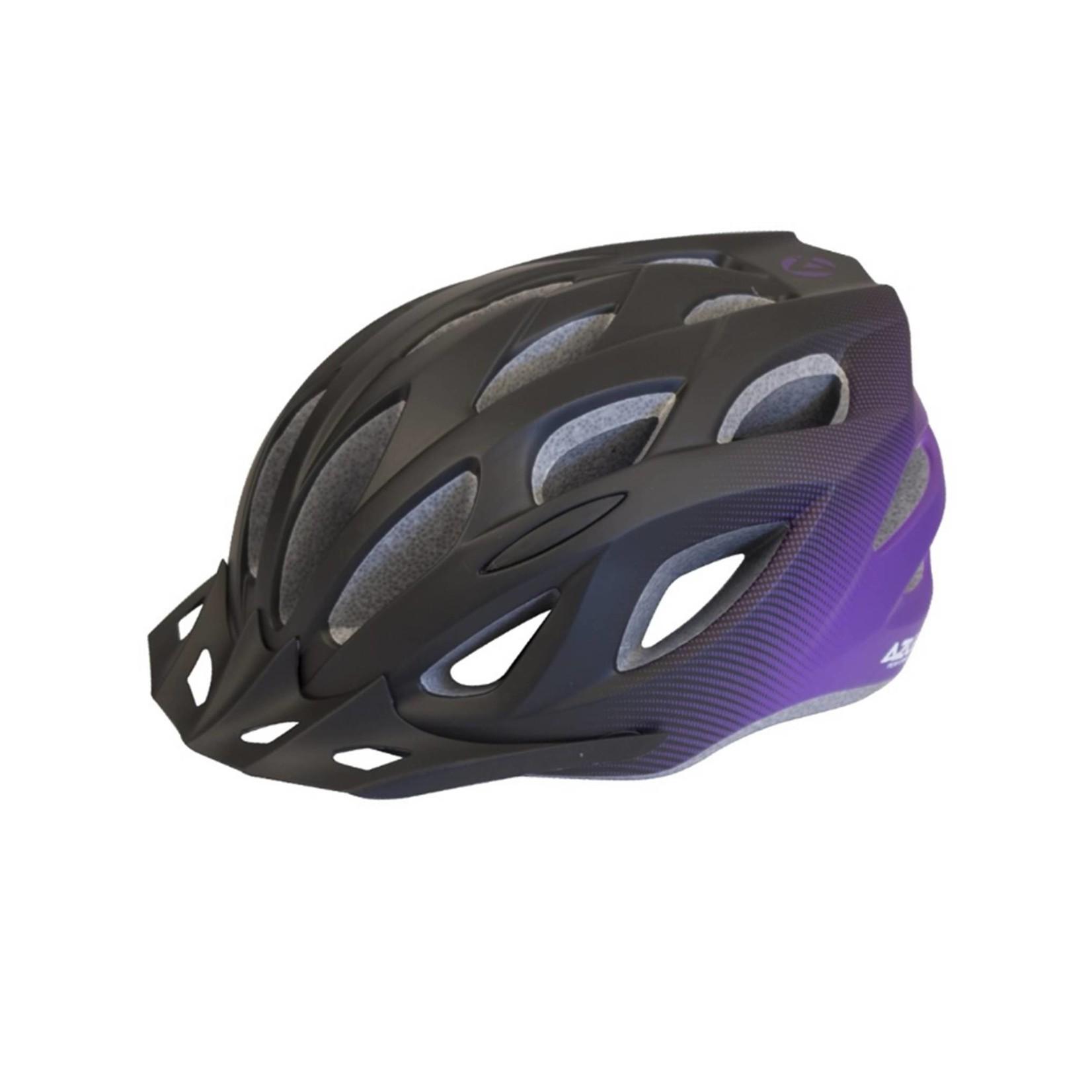 Azur L61 Black/Purple Fade Helmet